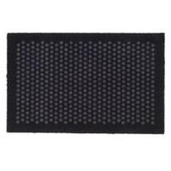 tica copenhagen - Dot Fußmatte 60 x 90 cm, schwarz / grau