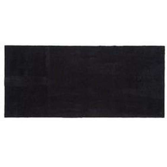 tica copenhagen - Fußmatte, 67 x 150 cm, Unicolor schwarz