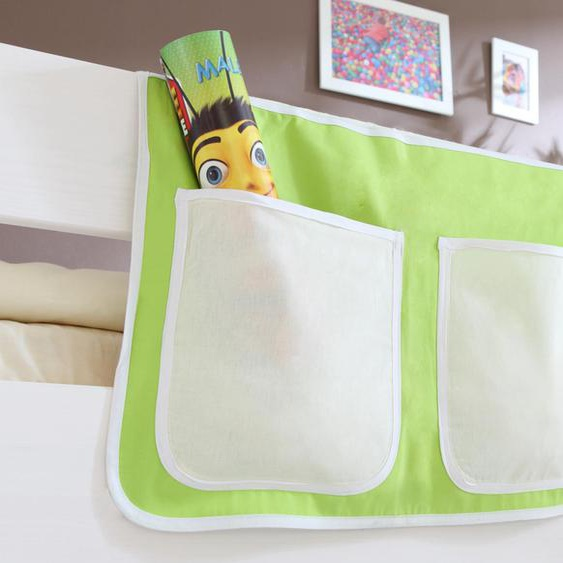 Ticaa Betttasche 56 x 32 cm, 56x32 cm beige Kinder Kinderzimmerdekoration Kindermöbel Taschen