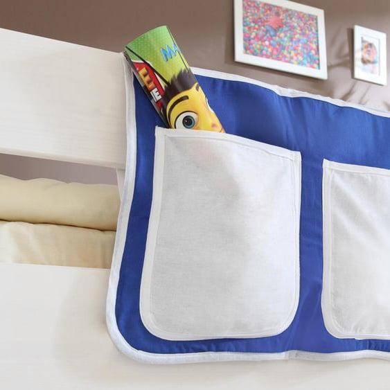 Ticaa Betttasche 56 x 32 cm, 56x32 cm blau Kinder Kinderzimmerdekoration Kindermöbel Taschen