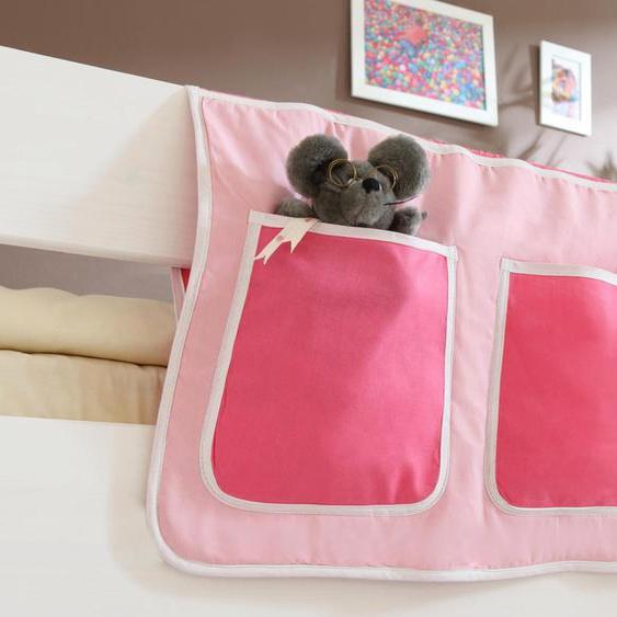 Ticaa Betttasche B/H: 56 cm x 32 rosa Kinder Kinderzimmerdekoration Kindermöbel