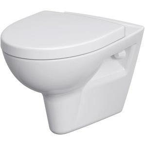 Cornat Komplett-Set: Wand WC »Montego spülrandlos«