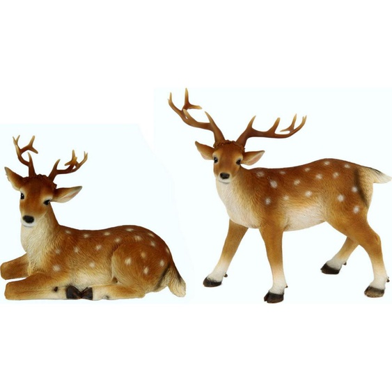 I.GE.A. Tierfigur »Reh« (Set, 2 Stück)