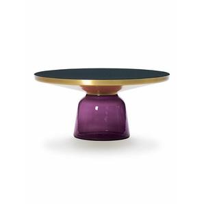 Tisch Bell Table ClassiCon violett, Designer Sebastian Herkner, 36 cm