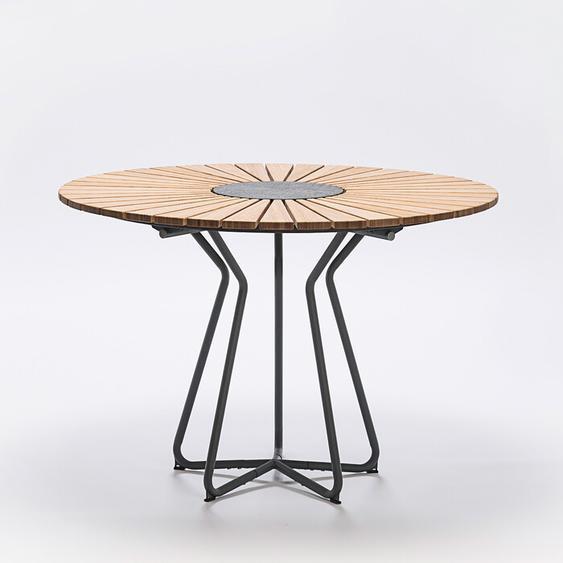 Tisch Circle Houe grau, Designer Henrik Pedersen, 75 cm