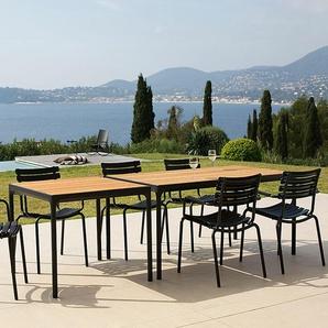Tisch Four Houe schwarz, Designer Henrik Pedersen, 75x160x90 cm