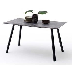 Tisch in Beton Grau und Anthrazit Industriedesign