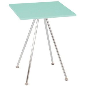 Tisch in Grün Quadratisch