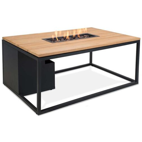 Tisch mit Feuerstelle Imala aus Aluminium
