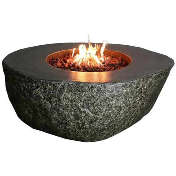 Tisch mit Feuerstelle Vesuv