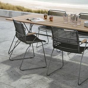 Tisch Sketch Houe grau, Designer Henrik Pedersen, 74.5x220x88 cm