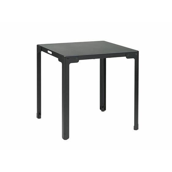 Tisch T-Table Functionals schwarz, Designer Christoph Seyferth, 73x70x70 cm