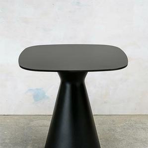 Tisch Tak REDI schwarz, Designer Karim Rashid, 73x70x70 cm