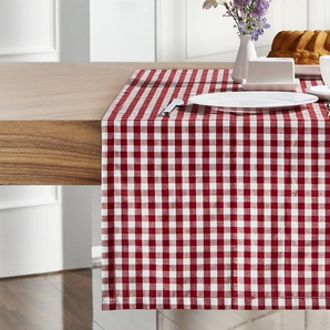 Tischband  Oktoberfest ¦ rot ¦ 100% Polyester ¦ Maße (cm): B: 50
