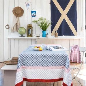 Tischdecke Indienne - bunt - 100 % Baumwolle - Tischwäsche