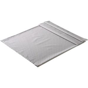 TISCHDECKE Textil Jacquard Silberfarben 135/170 cm: TISCHDECKE Textil Jacquard Silberfarben 135/170 cm