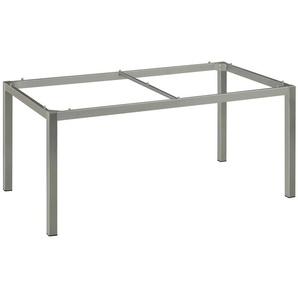 -Tischgestell 100 x 200 cm grau, 73x100 cm