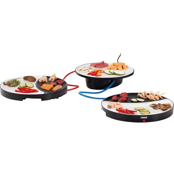Tischgrill Tischgrill Dinner4All 103082 mit zwei Teppanyaki-Grillplatten, PRINCESS