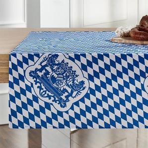 Tischläufer  Bayern ¦ blau ¦ 100% Baumwolle ¦ Maße (cm): B: 80