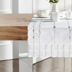 Tischläufer | creme | 100% Polyester | 40 cm | Möbel Kraft