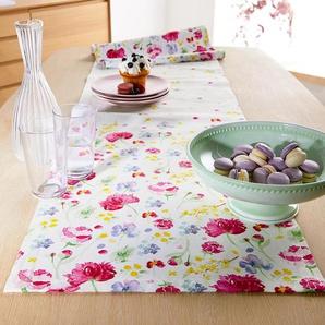 Tischläufer - mehrfarbig - 100% Baumwolle -