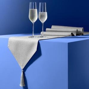 Tischläufer - silber -