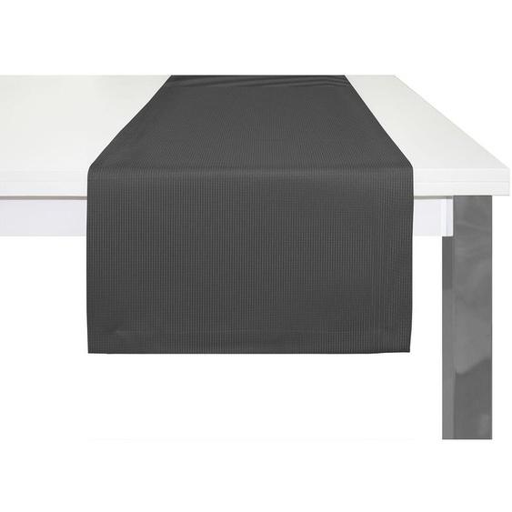 Tischläufer zum Beschriften Tafelstoff Schwarz 3 Meter Breite 12 cm Tischband