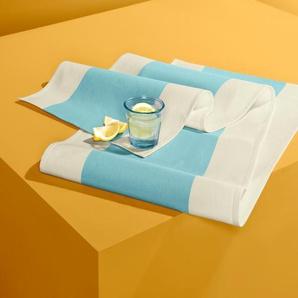 Tischläufer - weiß - 100% Baumwolle -