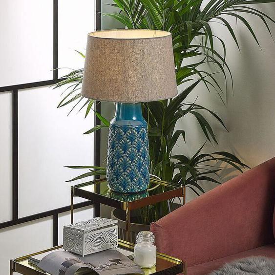 Tischlampe blau 55 cm THAYA