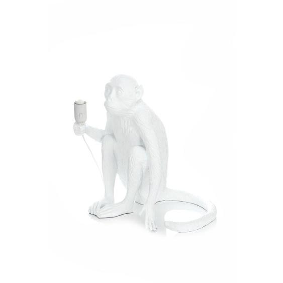 Tischlampe Weiß ca. 40cm (L) x 30cm (B) x 39cm (H)