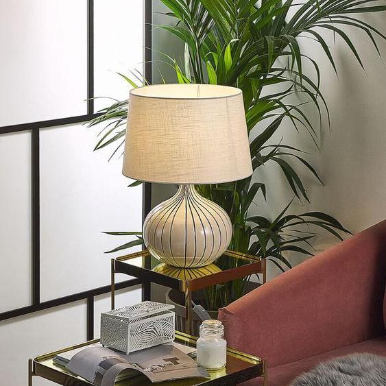 Tischlampe cremeweiß 45 cm WIEN