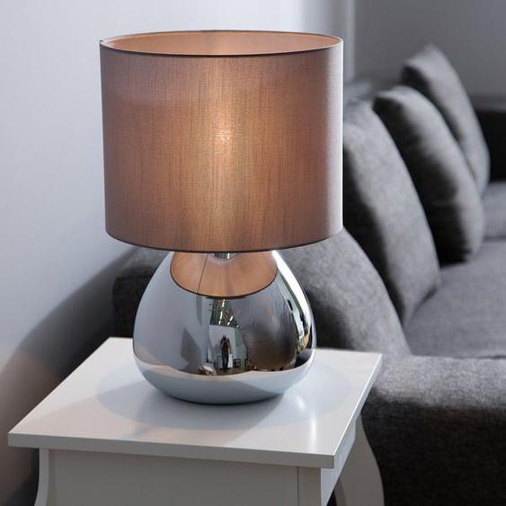 Tischlampe grau 41 cm RONAVA