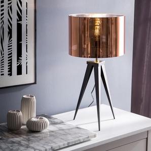Tischlampe kupfer 55 cm STILETTO
