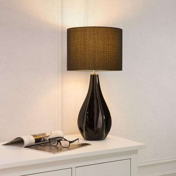 Tischlampe schwarz 60 cm SANTEE