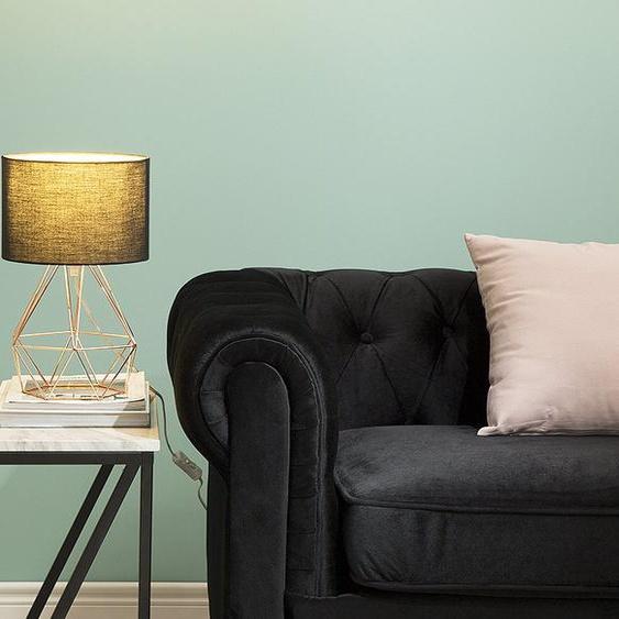 Tischlampe schwarz / kupfer 35 cm geometrisch MARONI