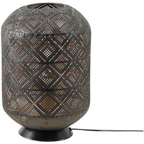 Tischleuchte, 1-flammig, Metall schwarz, klein ¦ schwarz Ø: 26.5