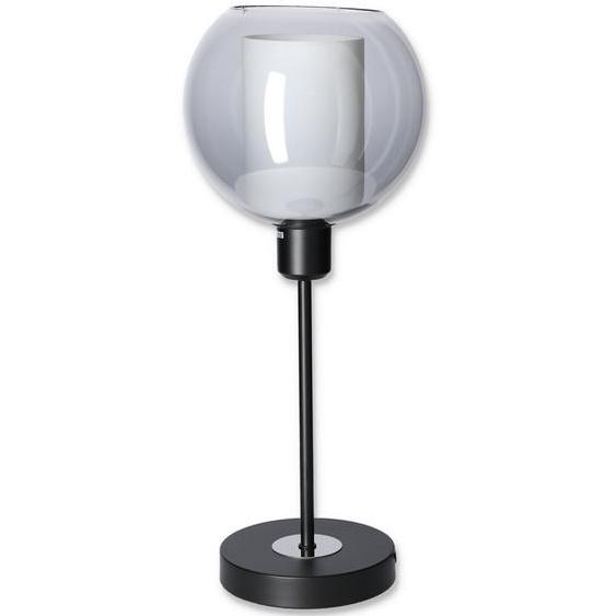 Tischleuchte grau/schwarz Ø 20 x 47,5 cm