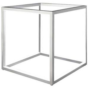 : Tischleuchte, Silber, B/H/T 20 20 20