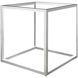 : Tischleuchte, Silber, B/H/T 30 30 30