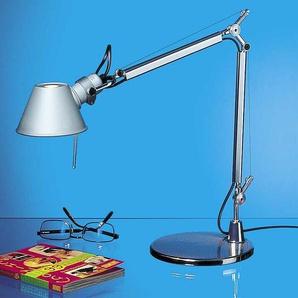 Tischlampe Tolomeo Micro Artemide Grau, Designer de Lucchi & Fassina, 73xmax. 65 cm
