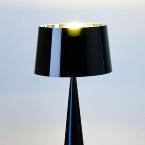 Tischleuchte Totem schwarz, Designer Aluminor, 58.5 cm