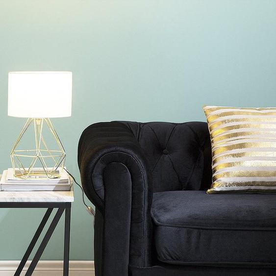 Tischlampe weiß / gold 35 cm geometrisch MARONI