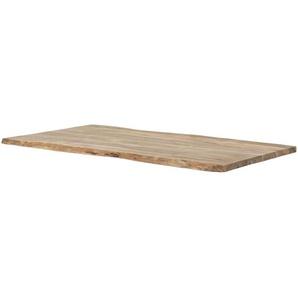 Tischplatte  Tuxa massiv ¦ holzfarben ¦ Massivholz lackiert ¦ Maße (cm): B: 90 H: 3,7