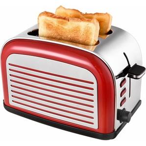 Toaster TKG TO 2500 R, rot, Team Kalorik