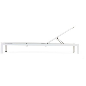 Todus - Leuven Sonnenliege Aluminium - Brown/White 525 - Grey 105 - outdoor