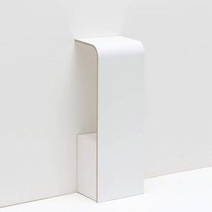 Tojo 151011054 Telefonkonsole, 31 x 25 x 85 cm, Weiß