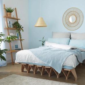 Tojo Futonbett lieg, reduziertes Design, in mehreren Breiten Liegefläche B/L: 180 cm x 200 Höhe: 27 cm, kein Härtegrad beige Futonbetten Betten Schlafzimmer