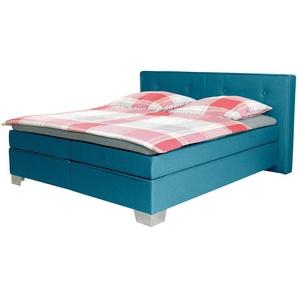 Tom Tailor Boxspring-Betten »SOFT BOX«, Matratze, grün, Liegefläche 90/200 cm