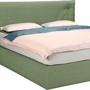 Tom Tailor Boxspringbetten »SOFT CLOUD BOX«, 2 Matratzen, grün, Liegefläche 180/200 cm