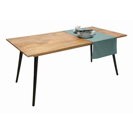 Tom Tailor Esstisch, Braun, Holz 140 x 80 cm